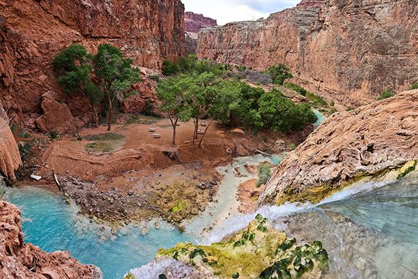Grand Canyon Attractions: Havasu Falls