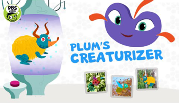 Fun App for Kids: Plum's Creaturizer