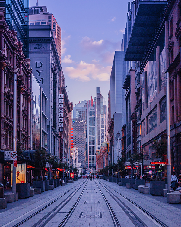 Best Places to Take Photos in Sydney: George Street